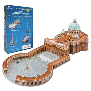 Rompecabezas 3D real Basílica de San Pedro