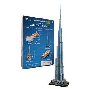 Rompecabezas 3D real Burj Khalifa