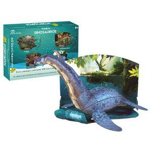 Rompecabezas 3D real Plesiosaurus