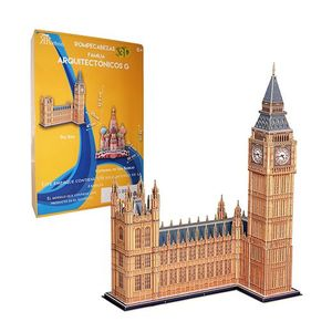 Rompecabezas 3D real Big Ben