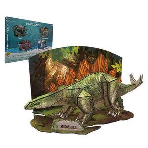 Rompecabezas 3D real Stegosaurus