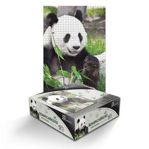 Rompecabezas Oso Panda (1000 pzas.)