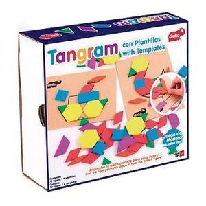 Tangram con plantillas