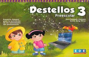 DESTELLOS 3. PREESCOLAR