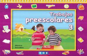 TRABAJOS PREESCOLARES 3