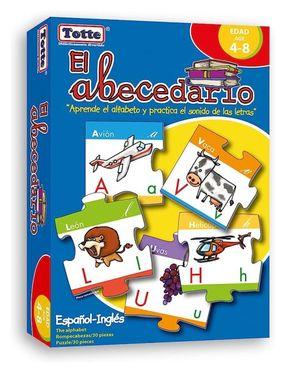 R.C. EL ABECEDARIO ESPAÑOL-INGLES 30 PZS.