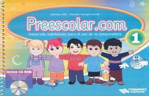 PREESCOLAR.COM 1 (INCLUYE CD)