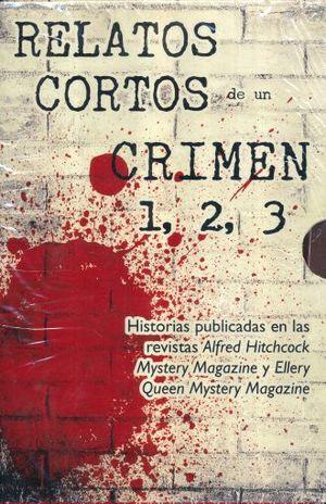 PAQ. RELATOS CORTOS DE UN CRIMEN 1-3 / 3 VOLS.