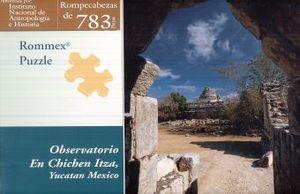 R.C. EL OBSERVATORIO EN CHICHEN ITZA 783 PZS.