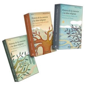 Paquete Historia de las Religiones / 3 Vols.