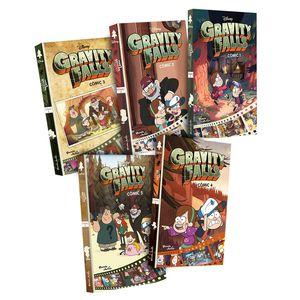 Paquete Gravity Falls cómics / 5 vols.