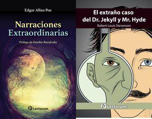 Paquete de terror. El extraño caso de Dr. Jekyll y Mr. Hyde / Narraciones extraordinarias