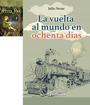 Paquete Juvenil 2. Peter Pan / Vuelta al mundo en ochenta días