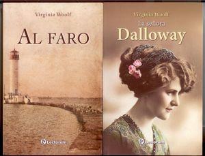 Paquete Virginia Woolf. Al Faro / Señora Dalloway (2 Vols.)