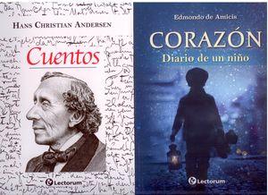 Paquete Edmondo de Amicis. Corazon, diario de un niño / Cuentos (2 Vols.)