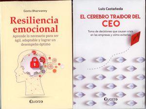 Paquete autoayuda. El cerebro traidor / Resiliencia emocional (2 Vols.)