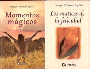 Paquete Enrique Villarreal. Los Matíces de la felícídad / Momentos mágicos (2 Vols.)