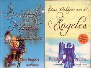 Paquete Elizabeth Clare 2. Arcángel Miguel, ayúdame / Cómo trabajar con los Ágeles (2 Vols.)