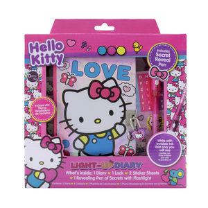 Light Up Diary Hello Kitty