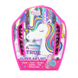 Super Art Set Unicorns And Rainbows