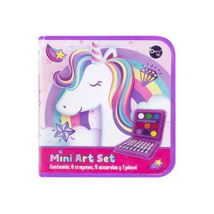 Mini Art Set Unicorns And Rainbows