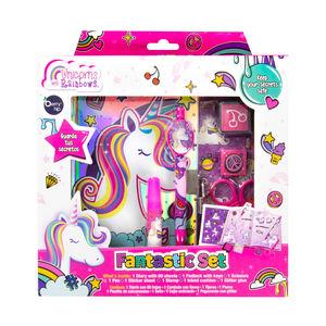 Fantastic Set Unicorns And Rainbows