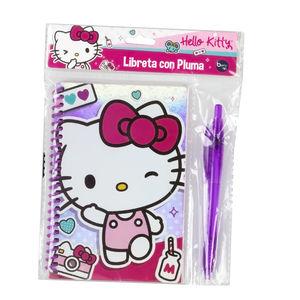 Libreta Con Pluma Hello Kitty