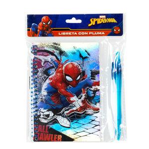Libreta Con Pluma Spider Man
