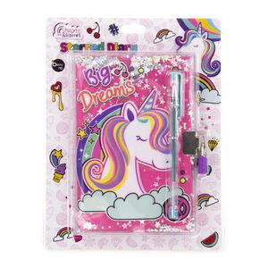 Starred Diary Unicorns And Rainbows