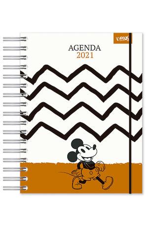 Agenda Premium diaria Mickey Mouse Vintage 2021