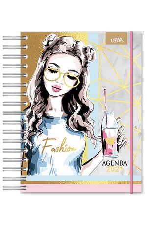 Agenda Premium diaria Fashion and Style 2021