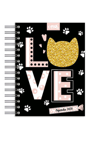 Agenda Básica diaria Golden Kittens 2021