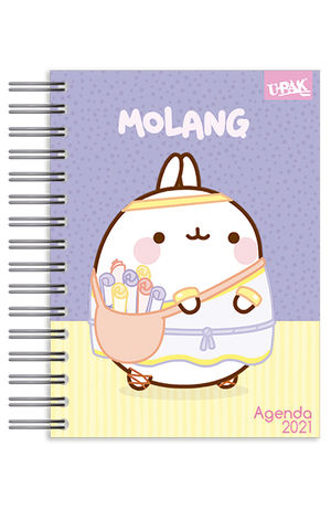 Agenda básica diaria Molang y Piu Piu Camera 2021
