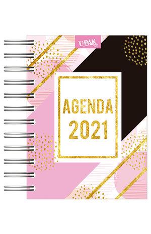 Agenda básica diaria Líneas My Style 2021