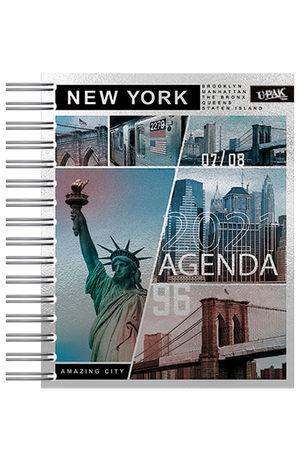 Agenda Deluxe diaria Metropolis 2021