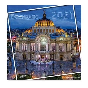 Calendario Monumentos México 2021