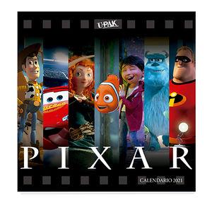 Calendario Pixar 25 Aniversario 2021