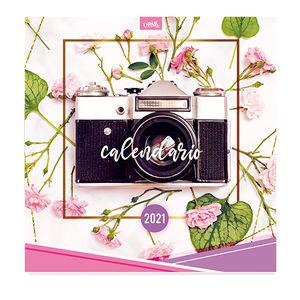 Calendario Flores Camara Acción 2021