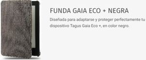 Funda de libros electrónicos Tagus Gaia (Color negro)