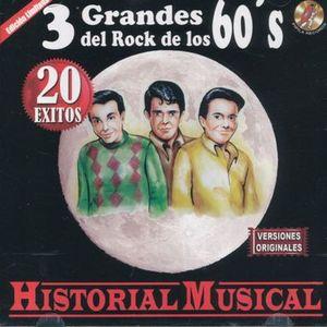 3 GRANDES DEL ROCK DE LOS 60S / HISTORIA MUSICAL 20 EXITOS