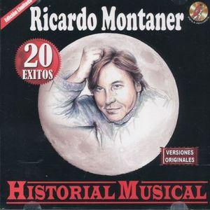 RICARDO MONTANER / HISTORIA MUSICAL 20 EXITOS