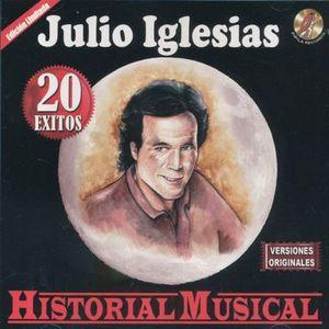 JULIO IGLESIAS / HISTORIA MUSICAL 20 EXITOS