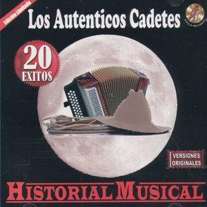 AUTENTICOS CADETES, LOS / HISTORIA MUSICAL 20 EXITOS
