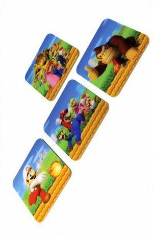 Portavasos lenticular Mario Bros