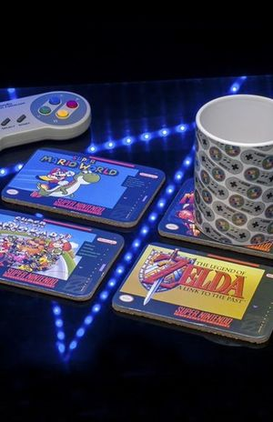 Portavasos Super Nintendo