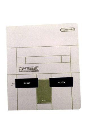 Libreta Super Nintendo