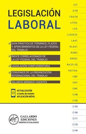 LEGISLACION LABORAL 2019 Y CONVENIOS OIT
