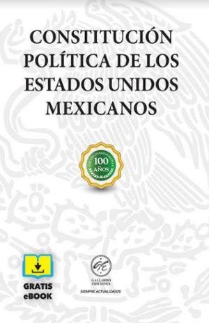 CONSTITUCION POLITICA DE LOS ESTADOS UNIDOS MEXICANOS (BOLSILLO)