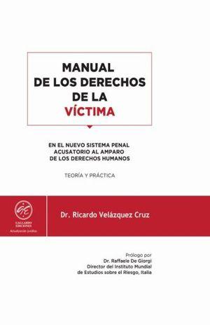 MANUAL DE LOS DERECHOS DE LA VICTIMA