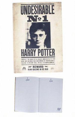 Libreta 3D lenticular Harry Potter